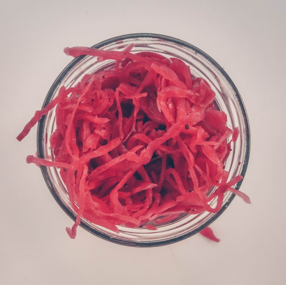 Pickled red onion