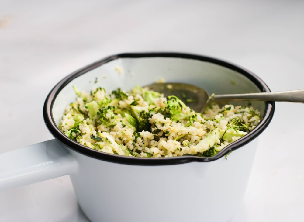 Courgette and brocolli cous cous-10