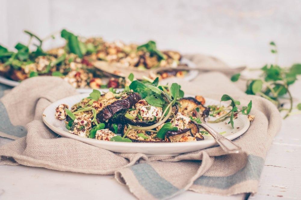Aubergine salad-6